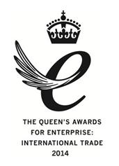 queens award logo